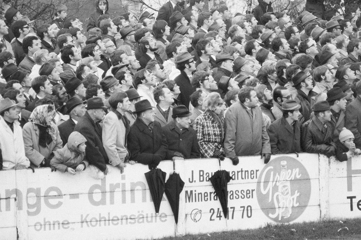 Stadtmatch 70 /71Aufnahmen Karl Künzlernur einmaliges Abdruckrecht