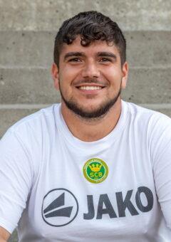 Trainer Christian Pinto Amorim